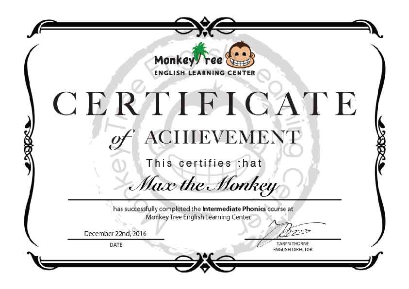 Phonics for Kids | Monkey Tree English Learning Center